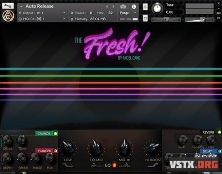 Angel Cano - The Fresh (KONTAKT) - сэмплы электрогитары Kontakt