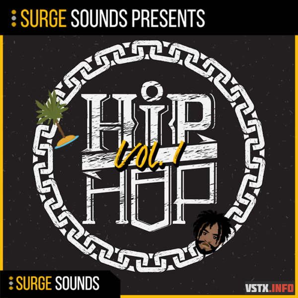 Surge Sounds - Hip Hop Vol. 1 (MIDI, WAV, SERUM) - сэмплы hip hop