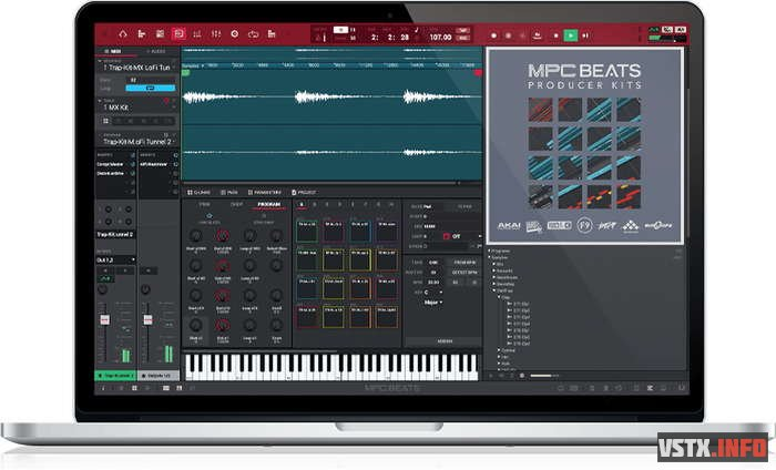 AKAI Professional - MPC Software 2.9.0 STANDALONE, AAX, VST x64 - секвенсор