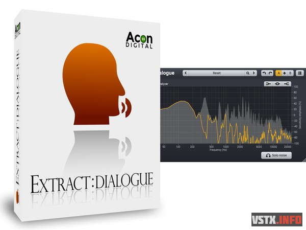 Acon Digital - ExtractDialogue 1.0.5 VST, VST3, AAX, AU WIN.OSX x86 x64 - плагин для обработки вокала