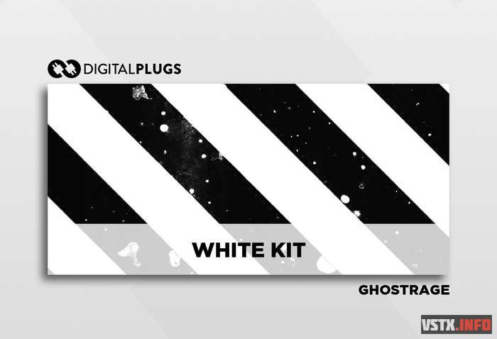 DigitalPlugs - Ghostrage – The White Kit (Drum Kit) (WAV) - сэмплы ударных