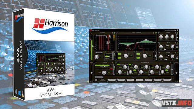 Harrison - AVA Vocal Flow 1.1.0 VST, VST3, AAX x64 - процессор эффектов для вокала