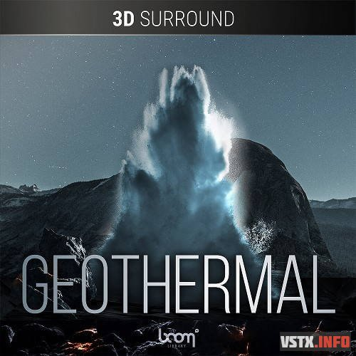 Boom Library - Geothermal Stereo & 3D Surround (WAV) - звуки природы