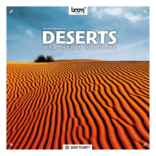 Boom Library - Deserts Weather & Wildlife STEREO & SURROUND (WAV) - звуки природы